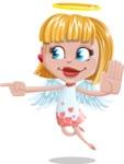 Angel Kid Vector Cartoon Character AKA Stella the Shining Angel - Direct Attention 2