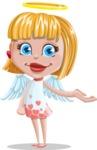 Angel Kid Vector Cartoon Character AKA Stella the Shining Angel - Sorry