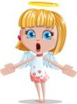 Angel Kid Vector Cartoon Character AKA Stella the Shining Angel - Lost