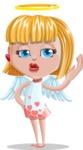 Angel Kid Vector Cartoon Character AKA Stella the Shining Angel - Duckface