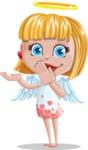 Angel Kid Vector Cartoon Character AKA Stella the Shining Angel - Oops