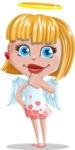 Angel Kid Vector Cartoon Character AKA Stella the Shining Angel - Patient
