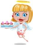 Angel Kid Vector Cartoon Character AKA Stella the Shining Angel - Cupcakes