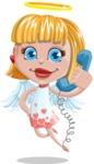 Angel Kid Vector Cartoon Character AKA Stella the Shining Angel - Support 1