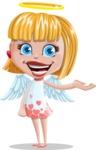 Angel Kid Vector Cartoon Character AKA Stella the Shining Angel - Showcase 1
