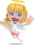 Angel Kid Vector Cartoon Character AKA Stella the Shining Angel - Plans