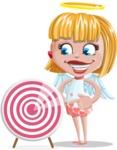 Angel Kid Vector Cartoon Character AKA Stella the Shining Angel - Target