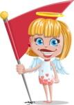 Angel Kid Vector Cartoon Character AKA Stella the Shining Angel - Checkpoint