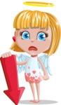 Angel Kid Vector Cartoon Character AKA Stella the Shining Angel - Arrow 3