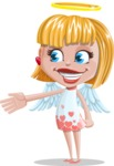 Angel Kid Vector Cartoon Character AKA Stella the Shining Angel - Show 1