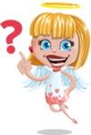 Angel Kid Vector Cartoon Character AKA Stella the Shining Angel - Question