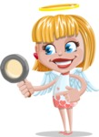 Angel Kid Vector Cartoon Character AKA Stella the Shining Angel - Search