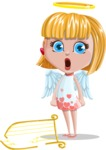 Angel Kid Vector Cartoon Character AKA Stella the Shining Angel - Broken