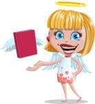 Angel Kid Vector Cartoon Character AKA Stella the Shining Angel - Book 2