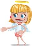 Angel Kid Vector Cartoon Character AKA Stella the Shining Angel - Show 2