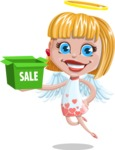 Angel Kid Vector Cartoon Character AKA Stella the Shining Angel - Sale 2