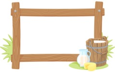 Dairy Products Frame