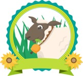 Animals: On The Farm - Sheep Sticker