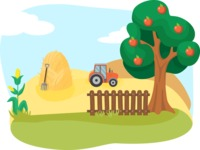 Animals: On The Farm - Farmland Scenery