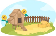 Animals: On The Farm - Hen House on the Farm
