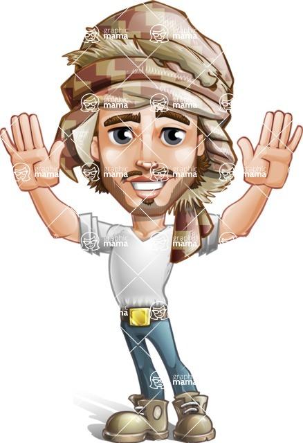 Sabih the Desert man - Hello