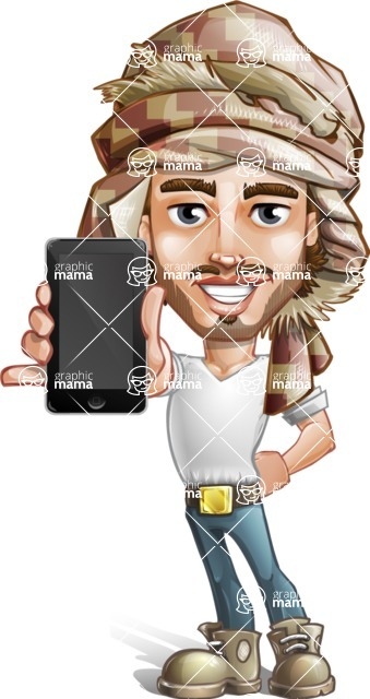 Sabih the Desert man - iPhone