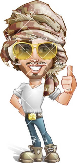 Sabih the Desert man - Sunglasses