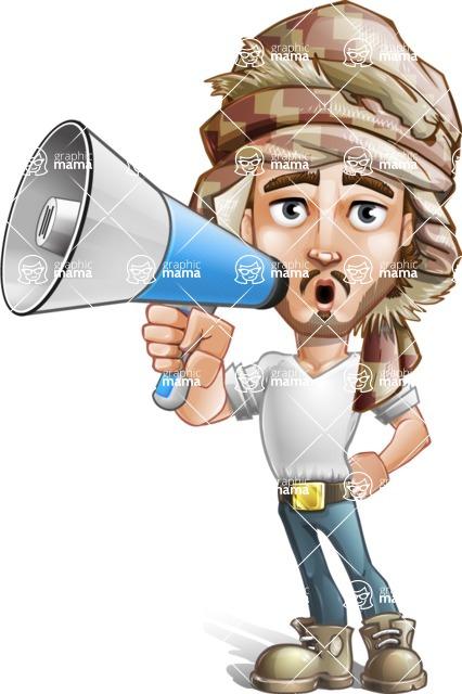 Sabih the Desert man - Laudspeaker