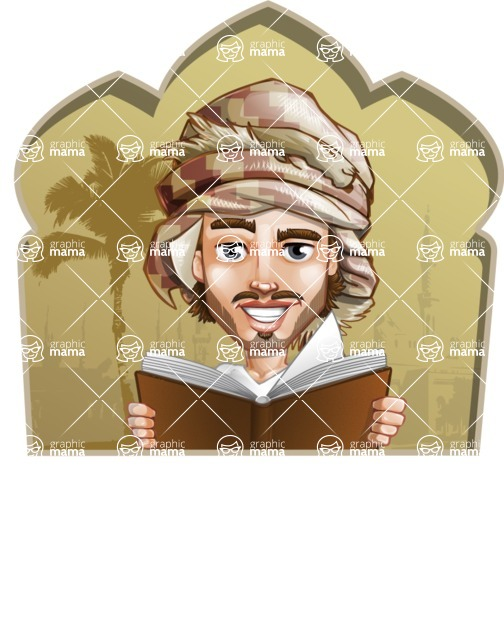 Sabih the Desert man - Shape 2
