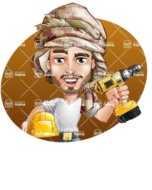 Sabih the Desert man - Shape 3