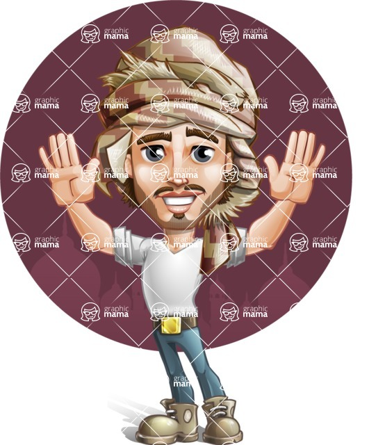 Sabih the Desert man - Shape 11