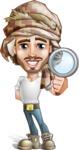 Desert Man Cartoon Vector Character AKA Sabih - Search