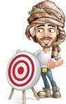 Sabih the Desert man - Target