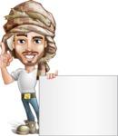 Sabih the Desert man - Sign 6