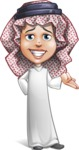 Cute Muslim Kid Cartoon Vector Character AKA Ayman - Sorry