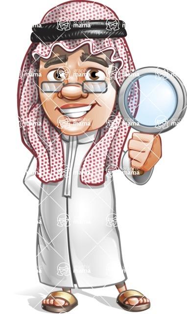 Saudi Arab Man Cartoon Vector Character AKA Wazir the Advisor - Search