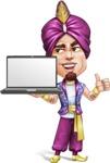 Zufar the Courageous - Laptop 2