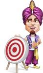 Zufar the Courageous - Target