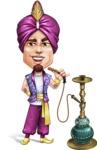 Zufar the Courageous - Hookah 1