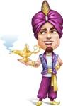 Zufar the Courageous - Lamp