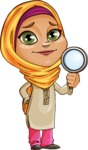Nasira the Caring Arabic Girl - Search