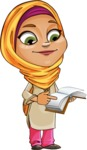 Nasira the Caring Arabic Girl - Book 1