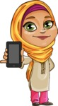 Nasira the Caring Arabic Girl - iPhone