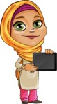 Nasira the Caring Arabic Girl - iPad 2