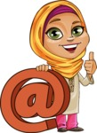 Nasira the Caring Arabic Girl - Web