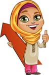 Nasira the Caring Arabic Girl - Arrow 1
