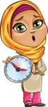 Nasira the Caring Arabic Girl - No Time