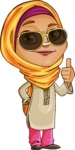 Nasira the Caring Arabic Girl - Sunglasses
