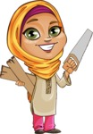 Nasira the Caring Arabic Girl - Under Construction
