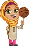 Nasira the Caring Arabic Girl - Basket Ball